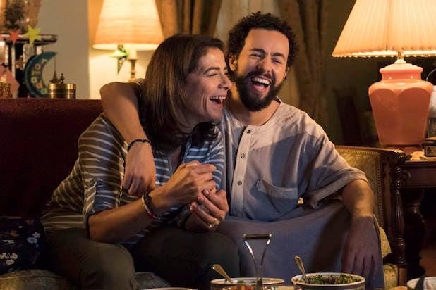 Maysa (Hiam Abbass) and Ramy (Ramy Youssef)