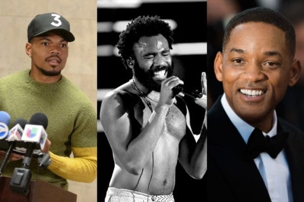 Will Smith, Childish Gambino, Chance The Rapper