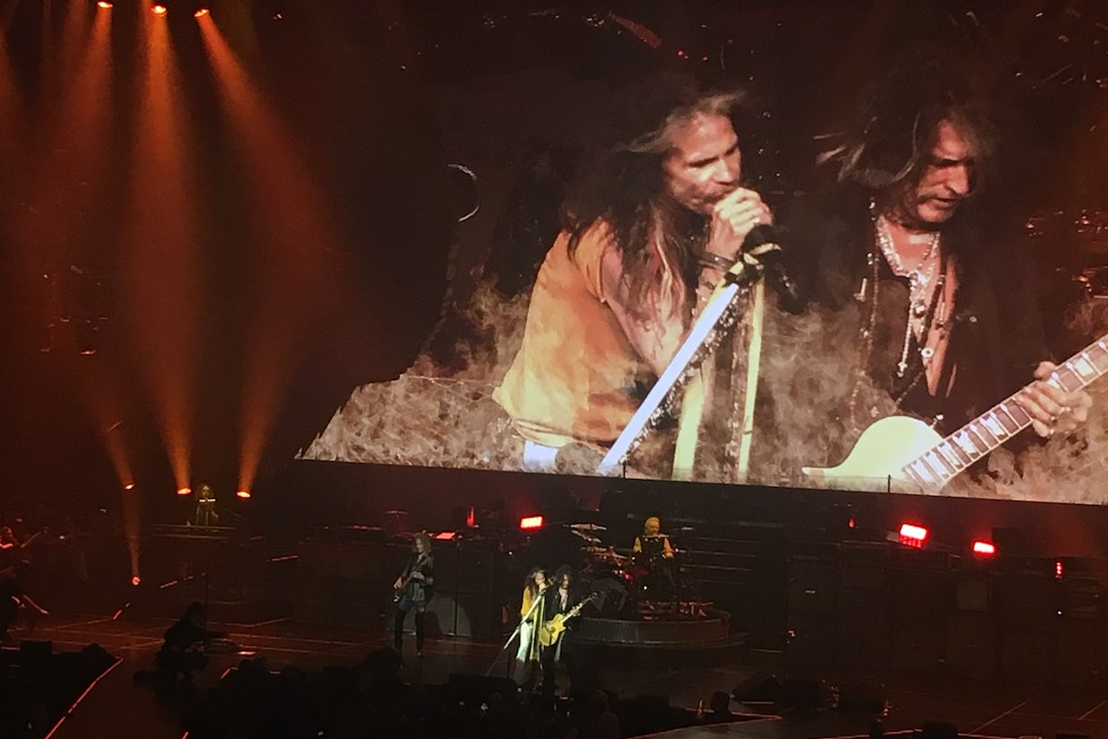 Aerosmith Draws a Line, Refuses to Pander in Exhilarating Start to Vegas Residency (Review)