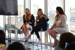 Beatrice Verhoeven, Debbee Klein and Jennifer Levine