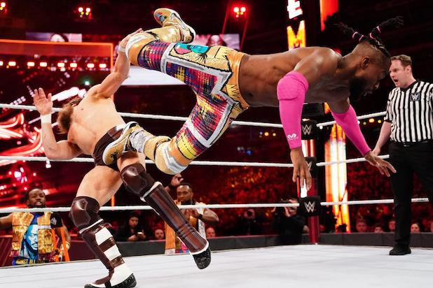 WrestleMania 35 Daniel Bryan Kofi Kingston