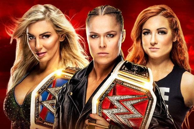 WrestleMania 35 women