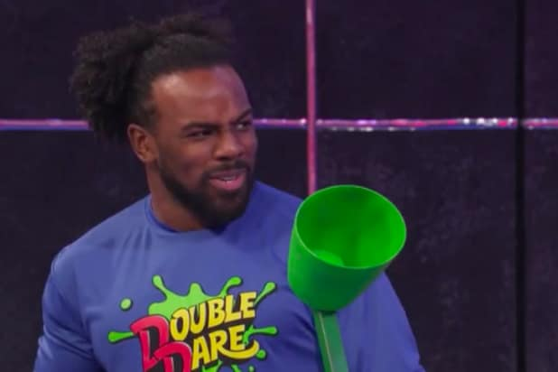 WWE's New Day Does NOT Rock at 'Double Dare' – Especially Xavier Woods (Exclusive Video)