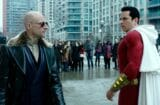 dc comics shazam mid-credits scene explained dr sivana mister mind worm guy mark strong