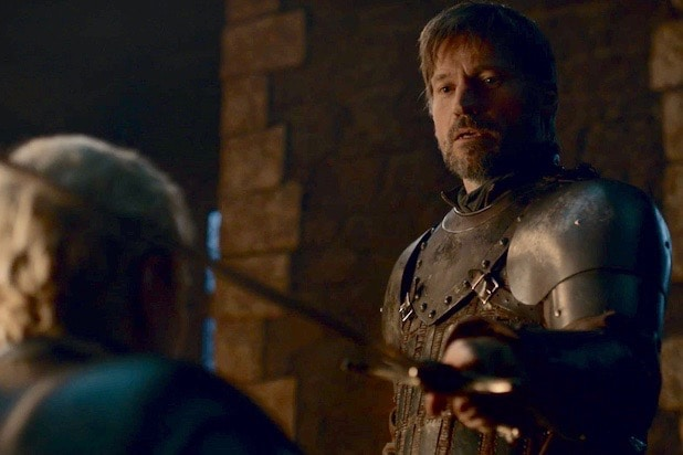 'Game of Thrones': Nikolaj Coster-Waldau Says Jaime Knighting Brienne Was 'Obviously an Act of Love'