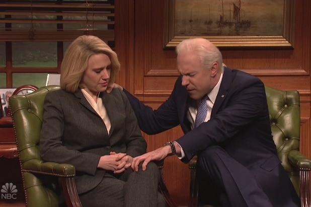 'SNL': Joe Biden Goes to Sensitivity Training to Try to Learn to Be Normal (Video)