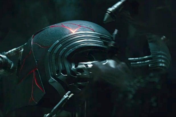 star wars episode ix the rise of skywalker kylo ren helmet repaired
