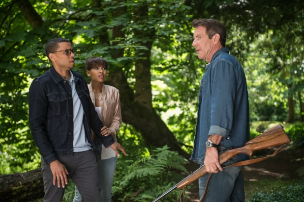 'The Intruder' Review: Dennis Quaid Stalks Homeowners in ...