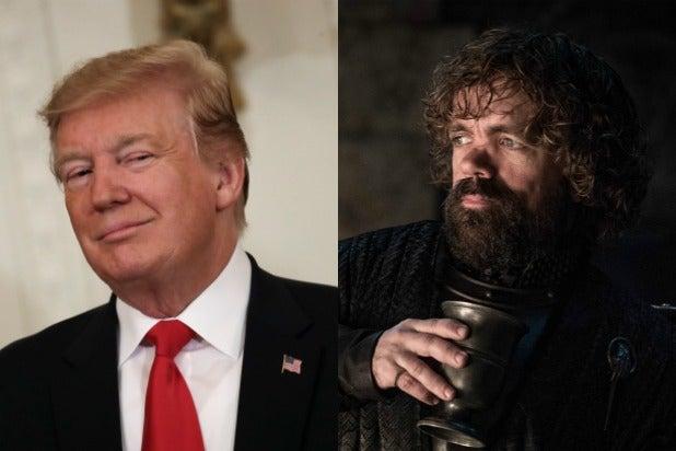 trump game of thrones tweet hbo
