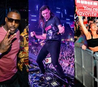 EDC 2019 - Idris Elba, Skrillex, Fan