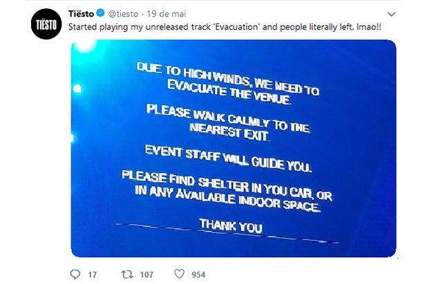 EDC 2019 Evacuation Order
