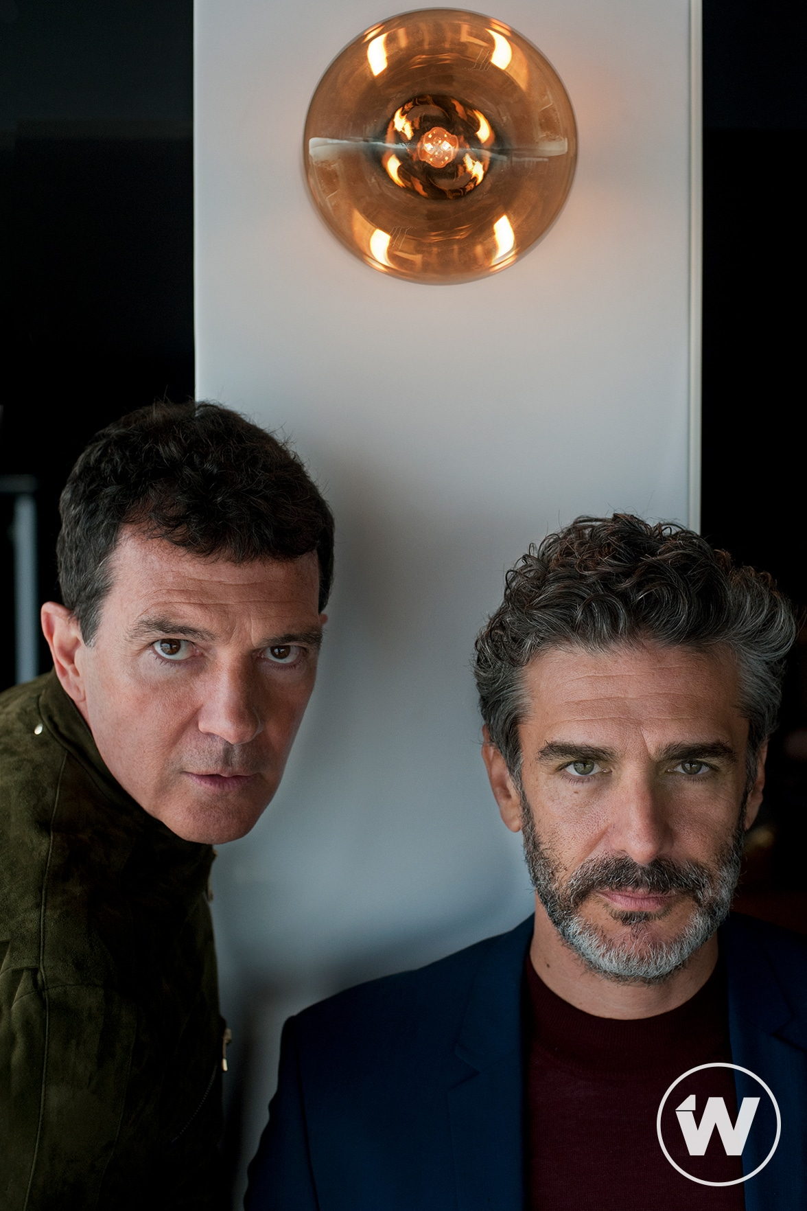 Antonio Banderas and Leonardo Sbaraglia, Pain and Glory