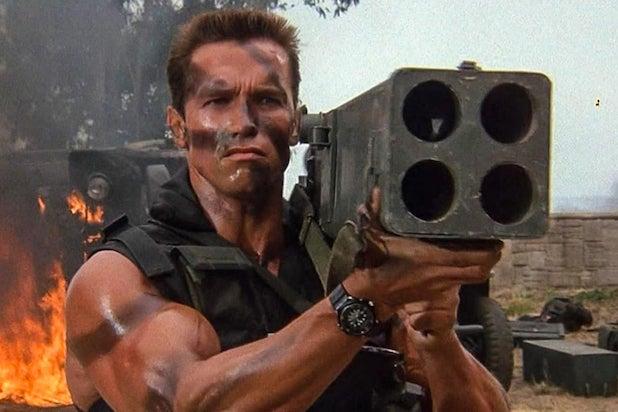 Arnold Schwarzenegger Commando