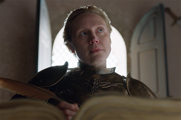 Brienne Game of Thrones finale