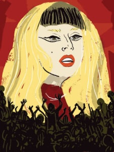 Cannes Goes Gaga