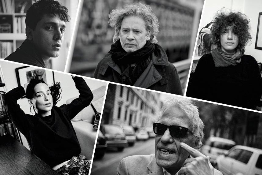 cannes directors gallery Xavier Dolan, Dexter Fletcher, Danielle Lessovitz, Pippa Bianco, Abel Ferrera