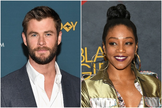 Chris Hemsworth Tiffany Haddish