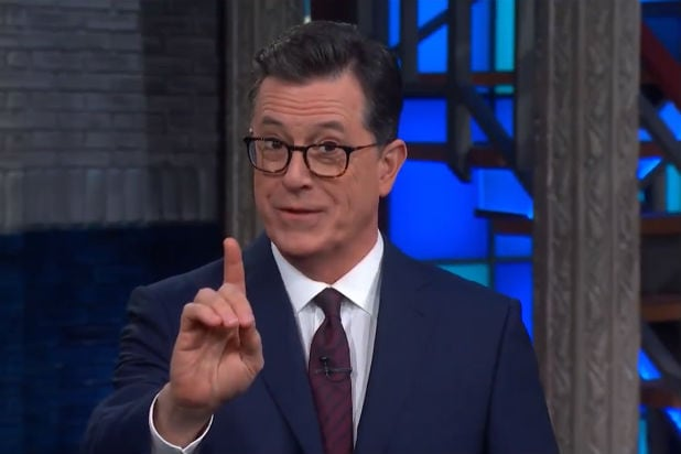 Colbert Fake Apologizes CBS Late Show Republicans