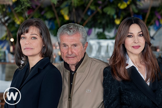 Marianne Denicourt, Claude Lelouch, and Monica Bellucci, The Best Years of a Life