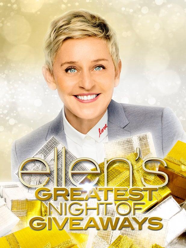 Ellen's Greatest Night of Giveaways - Season 2019