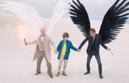 Good Omens' Stars David Tennant and Michael Sheen Break Down