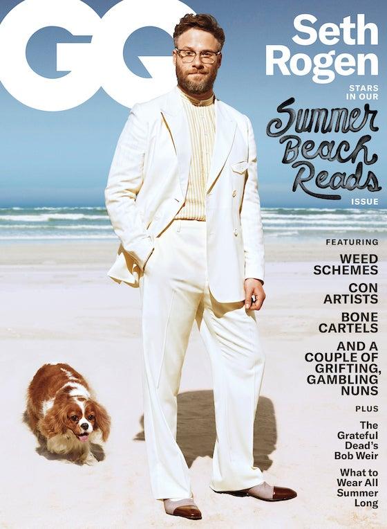 GQ Cover Seth Rogen