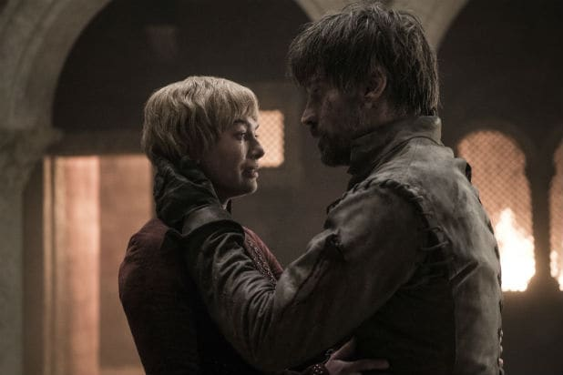 Game of Thrones Season 8 Episode 5 Jaime and Cersei