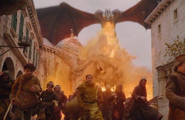 Games Of Thrones Dragon Fire Season 8