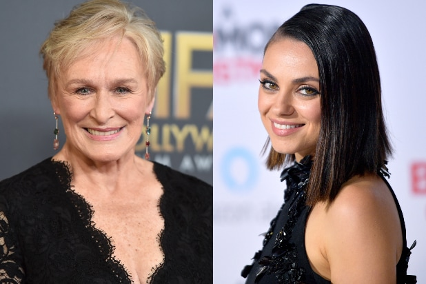 Glenn Close Mila Kunis