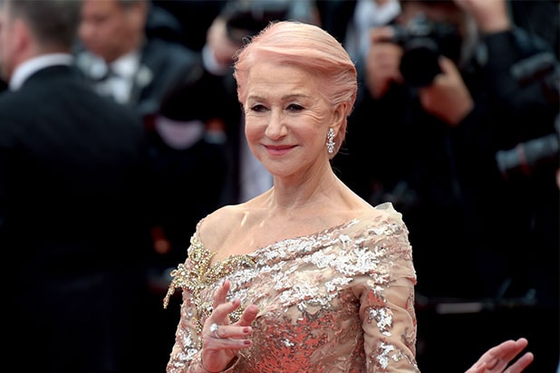 Helen Mirren cannes