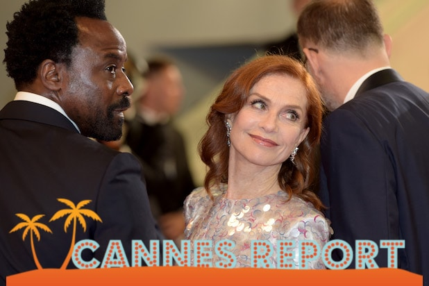Isabelle Huppert Cannes Day 7