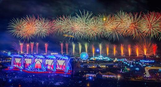 EDC Fireworks 2016