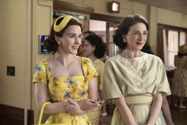 'The Marvelous Mrs. Maisel' Matriarch Marin Hinkle Is Team Joel… Sorry Benjamin! (Video)