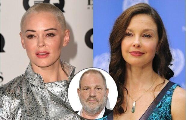Rose McGowan Ashley Judd Harvey Weinstein