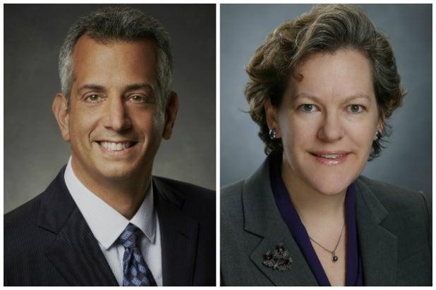 NBCU Research execs Jeff Bader and Lisa Heimann