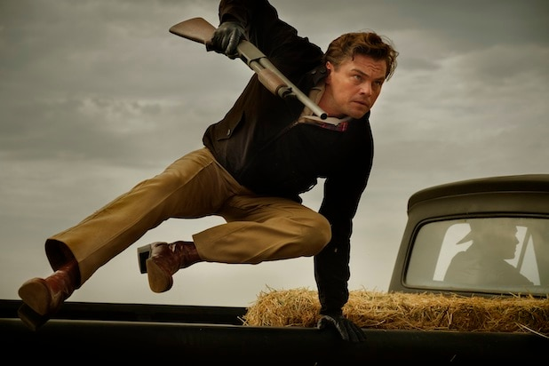 Leonardo Di Caprio in Once Upon a Time in Hollywood