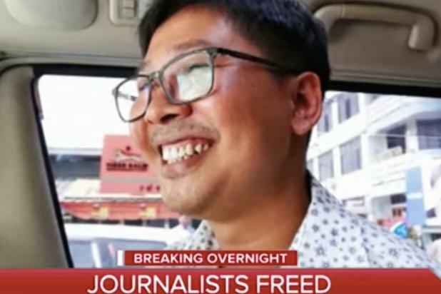 Myanmar Journalists Freed