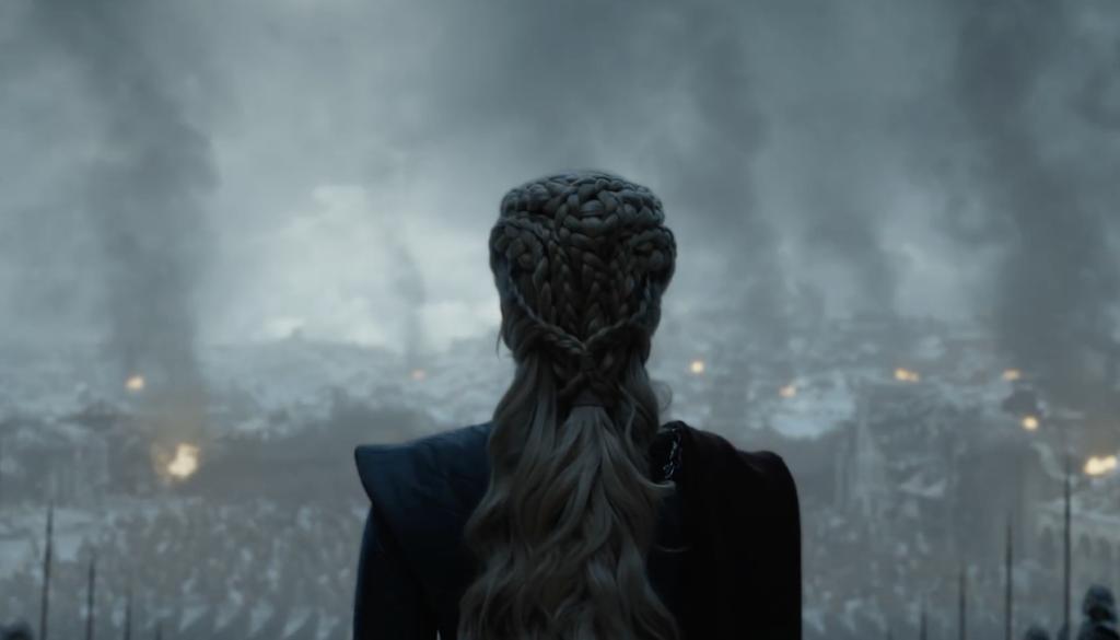 Daenerys Targarean shoulder Game of Thrones