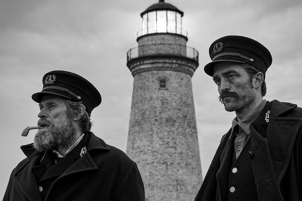 The Lighthouse Willem Dafoe Robert Pattinson