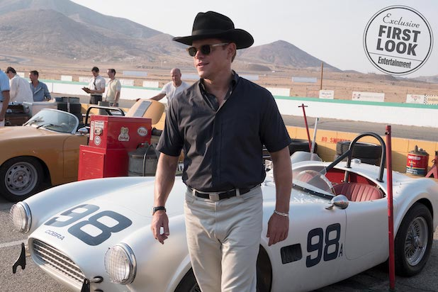 Ford v. Ferrari Matt Damon