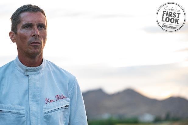 Ford v. Ferrari Christian Bale