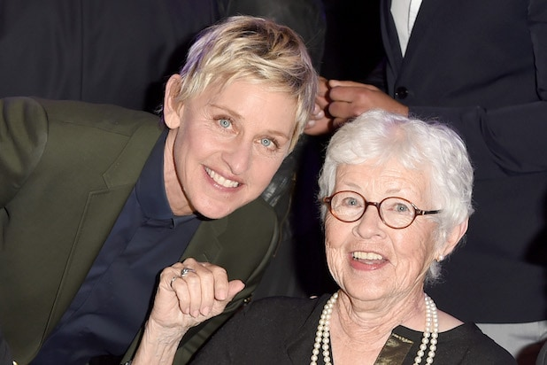 Ellen DeGeneres Betty DeGeneres