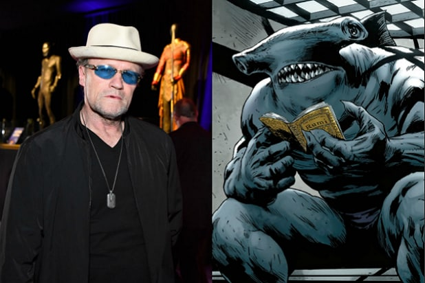 Michael Rooker King Shark Suicide Squad
