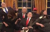 snl saturday night live season finale donald trump alec baldwin queen don't stop me now