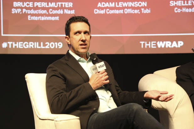 Adam Lewinson of Tubi TV at TheGrill 2019