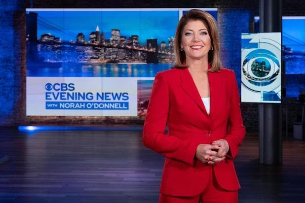 Norah O'Donnell CBS Evening News