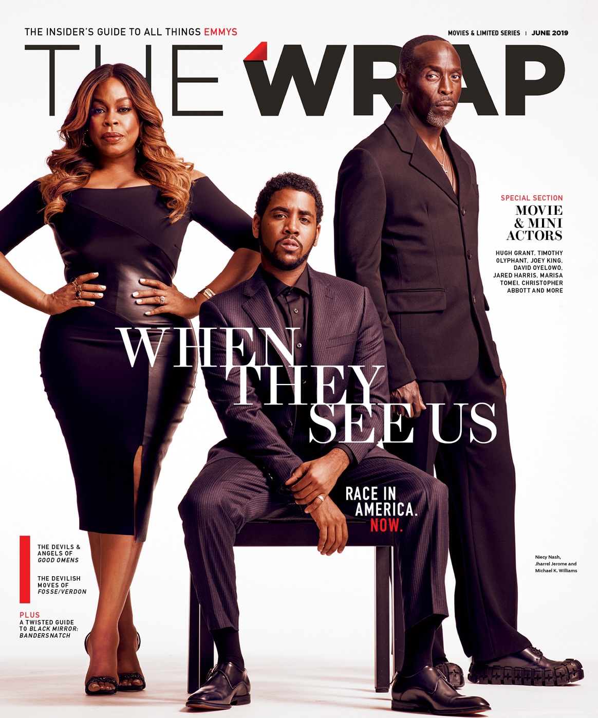 Jharrel Jerome, Niecy Nash, Michael K. Williams, When They See Us