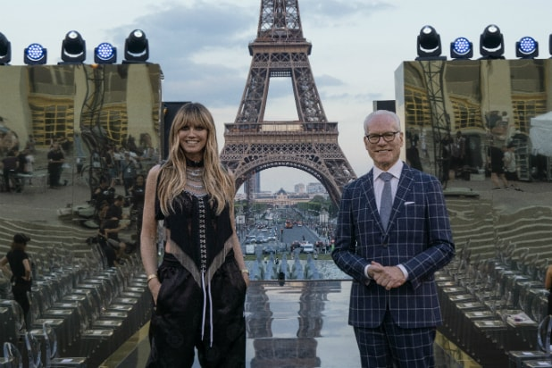 Heidi Klum and Tim Gunn in Amazon's 'Making the Cut'