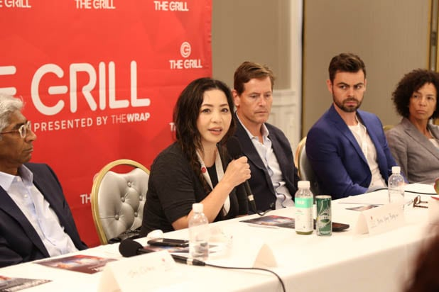 Nina Yang Bongiovi TheGrill Producers Roundtable