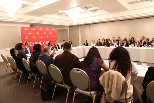 Producer's roundtable at thegrill 2019